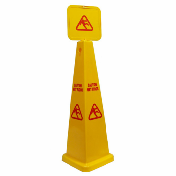 Caution Sign Cone Wet Floor