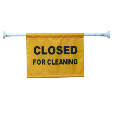 Door-hanging Caution Sign Closed for Cleaning