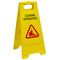 A-Frame Caution Sign Caution Wet Floor