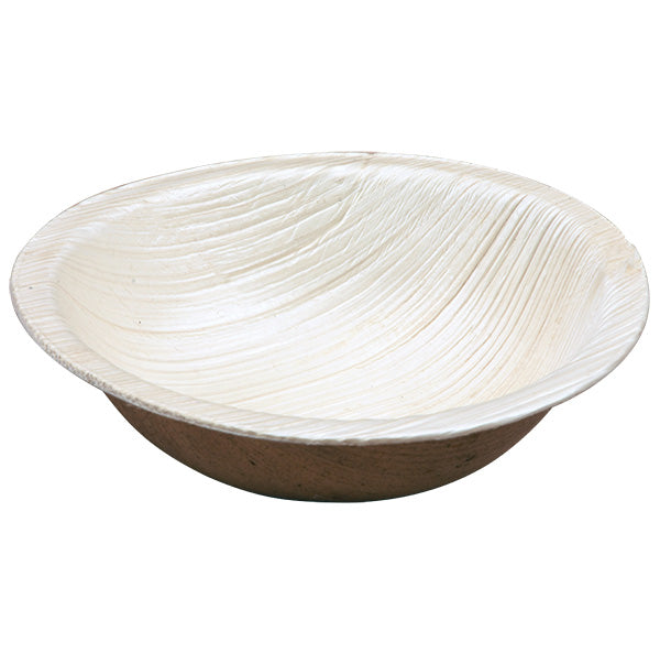 One Tree Palm Leaf Eco Dip Bowl - Round 100mm - 200 Pack
