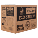 Eco-straw - Oxi-Bio - Spoon Straw - Mix Colours - 2500 Pack (10x250)
