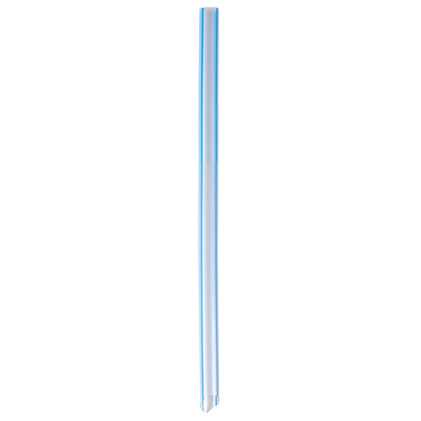 Eco-Straw - Oxi-Bio Super Smoothie - Blue Stripe - 1000 Pack (10x100)