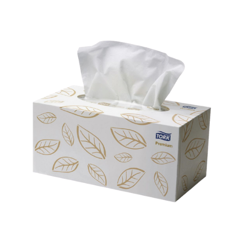Tork Premium 2ply Facial Tissues 224 Sheets x 24 Boxes