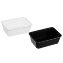 Genfac Plastic Rectangle Container (Microwaveable) 900ml