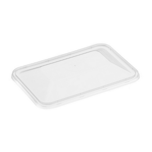 Genfac Rectangular Dome Lid - Lid Suit 500-1000mL