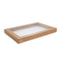 Alfresco Lid To Suit Kraft Catering Box Medium 100 Pieces