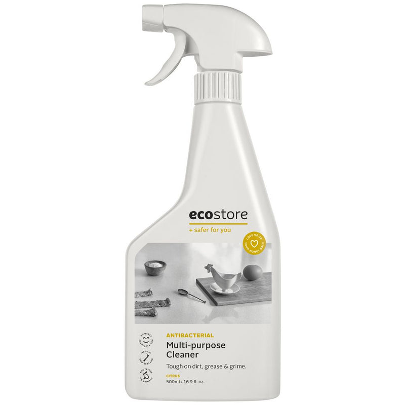 Ecostore Antibacterial Multipurpose Spray Cleaner Citrus - 500ml