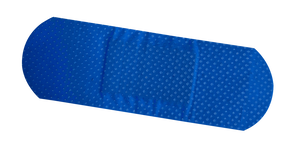 Blue Detectable Plastic Strips 25 x 72mm