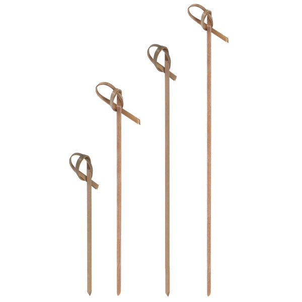 One Tree Bamboo Knotted Skewer Pick - 180mm - 5000 Pack (20x250) - FSC 100%