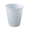 Capri White Plastic Dispenser Cup 180ml 1000pcs