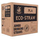 Eco-Straw - PLA Jumbo Straw - Green - 3000 Pack - New