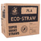 Eco-Straw - PLA Super Shake Straw - Green - 2500 Pack