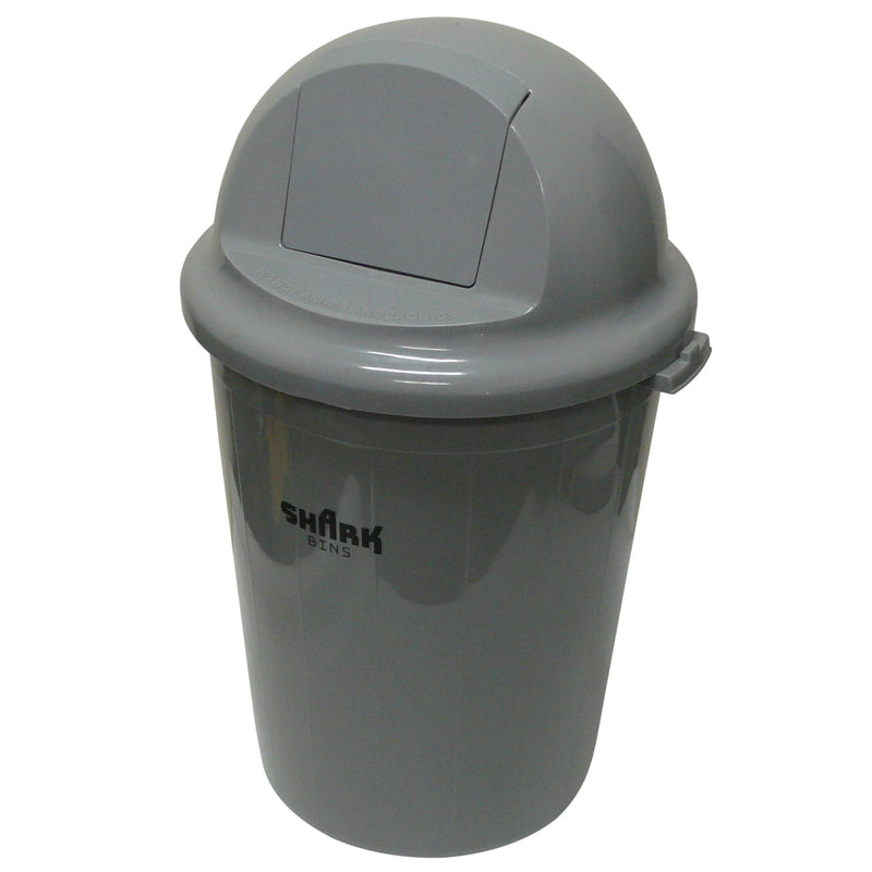 80 Litre Push In Lid Rubbish Bin