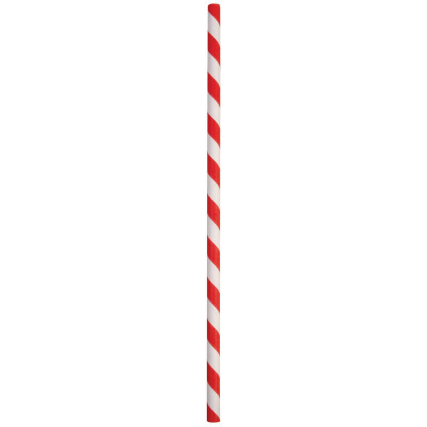 Eco-Straw 3ply Retail - Red/White - 2000 Pack (20x100) - FSC Mix 70%
