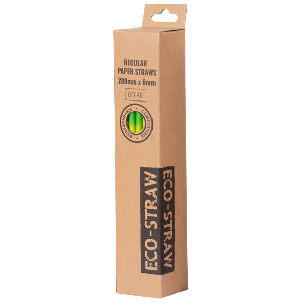 Eco-Straw 3ply Retail - Bamboo - 1000 Pack (25x40) - FSC Mix 70%