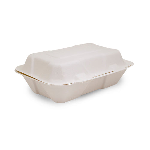 "Hinged Container - 9"" x 6"" - 200 Pack"