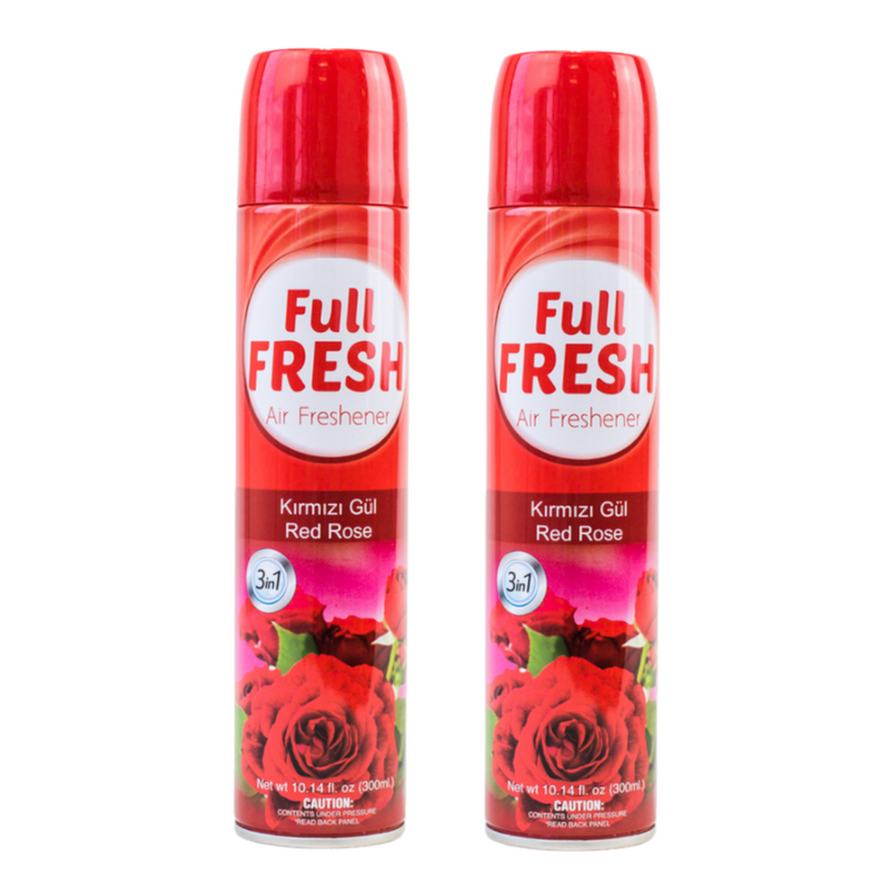 2 x Full Fresh Air Freshener - Rose