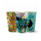 Single Wall Art Series Cups BioPak Coffee Cup 4, 6, 8, 12, 16oz