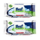 2 x Best Antibacterial Wet Wipes, Kills 99.9% of Germs 100pcs