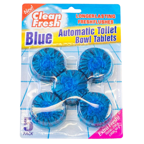 Clean Fresh Automatic Toilet Bowl Tablets