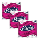 3 x Papia 3ply Toilet Paper 32 Rolls
