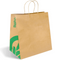 Biopak Twist Handle Kraft Paper Bags Jumbo