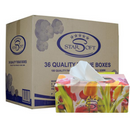 36 x Starsoft Facial Tissue 2ply 180 Sheets
