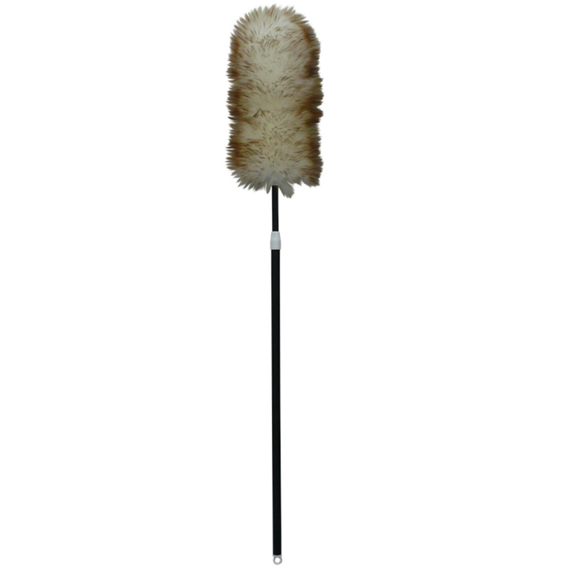 Wool Duster with Extendable Handle