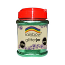 Rainbow Fine Glitter Jar Green 250g