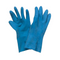 Hand Care Silverlined Blue Rubber Cleaning Gloves