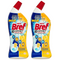 2 x Bref Toilet Cleaning Gel 10x Effect 450ml