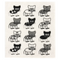 Retro Kitchen Sponge Cloth Cat