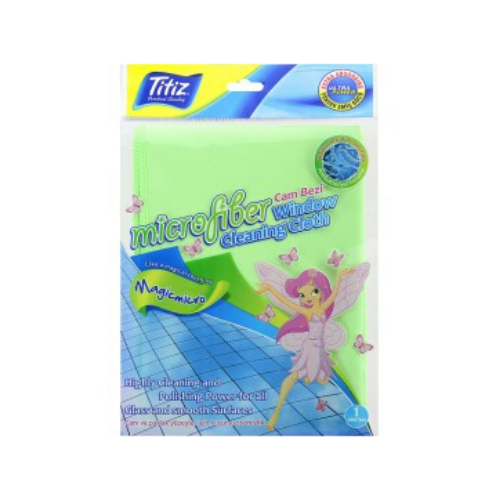Titiz Microfibre Window Cleaning Cloth 2 Pieces