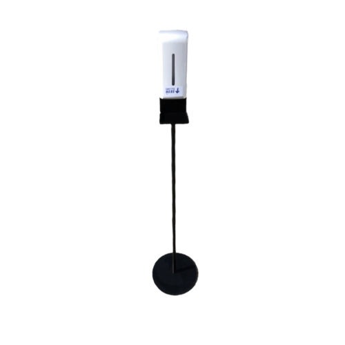 Portable Contactless Sanitiser Dispenser & Stand - 143cm