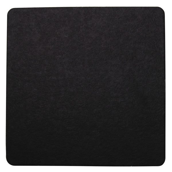 Wobbly Boot Drink Coaster - Black Square - 2500 (10x250)