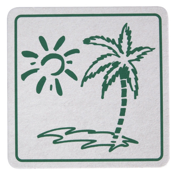 Wobbly Boot Drink Coaster - Tropicool - 2500 (10x250)