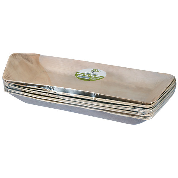 One Tree Palm Leaf - Tray Rectangle Boat - 540 x 250mm - 50 Pack