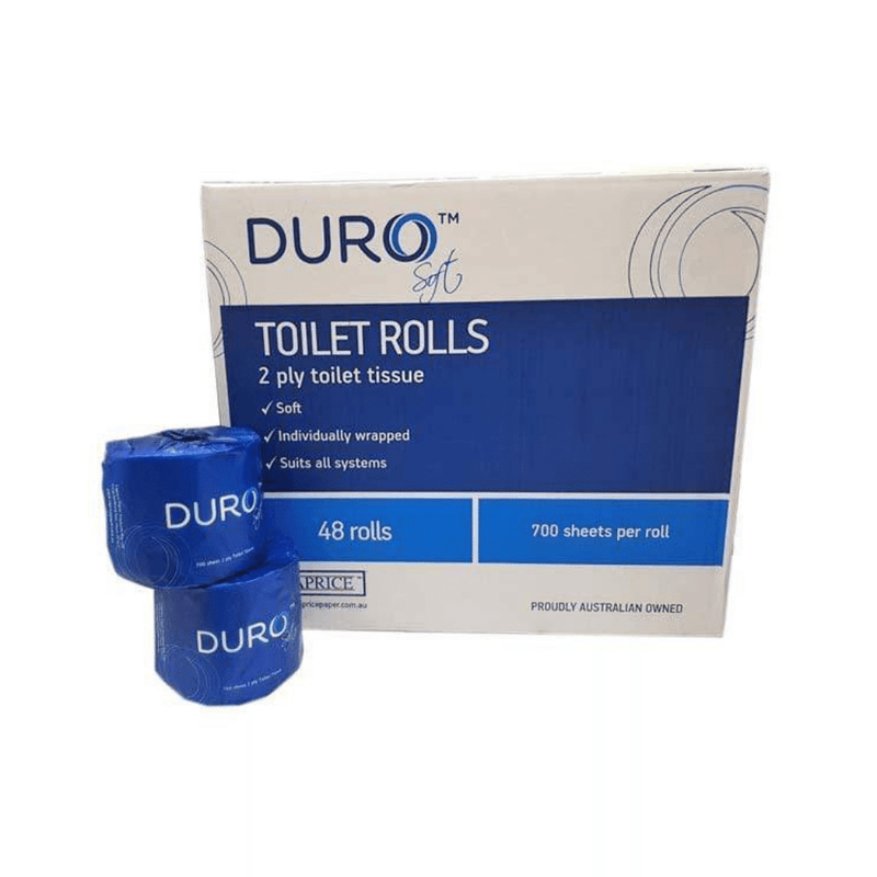 Duro 2ply Toilet Tissue 400 Sheet x 48 Rolls