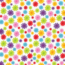 Rainbow Club Roll Prints 80GSM 38mm Core 500mm X 60m Daisy