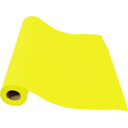Rainbow Club Roll 80GSM 38mm Core 500mm X 60m Wrapped Yellow