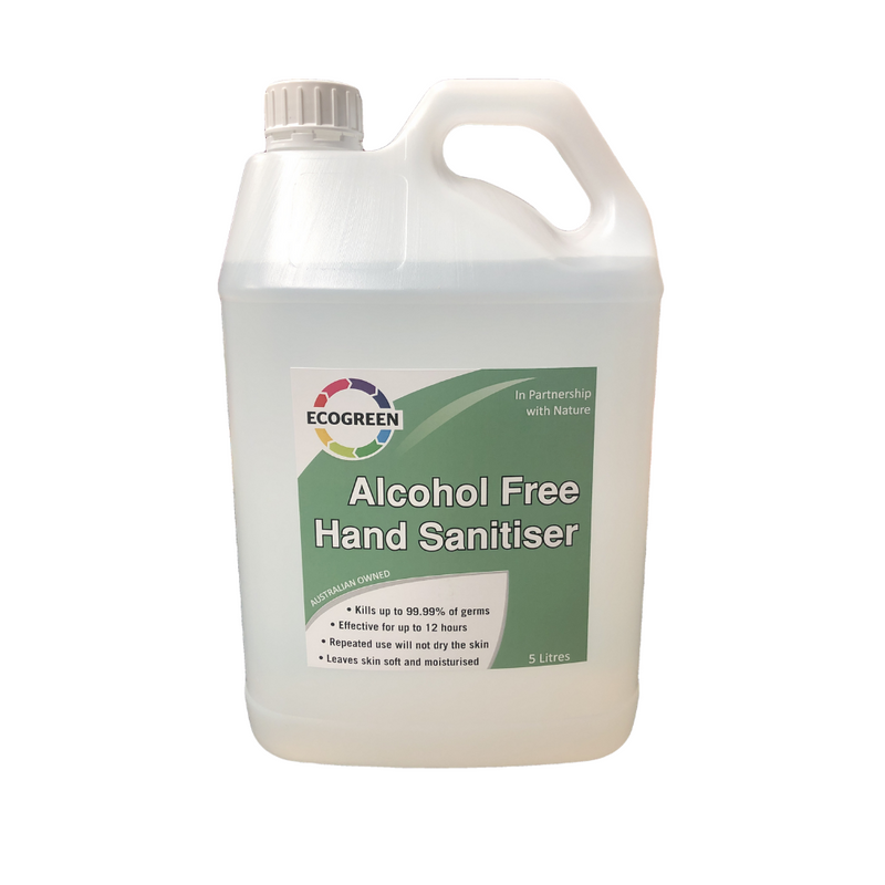Eco Green Hand Sanitiser Kills 99.99% of Germs 5 Litres