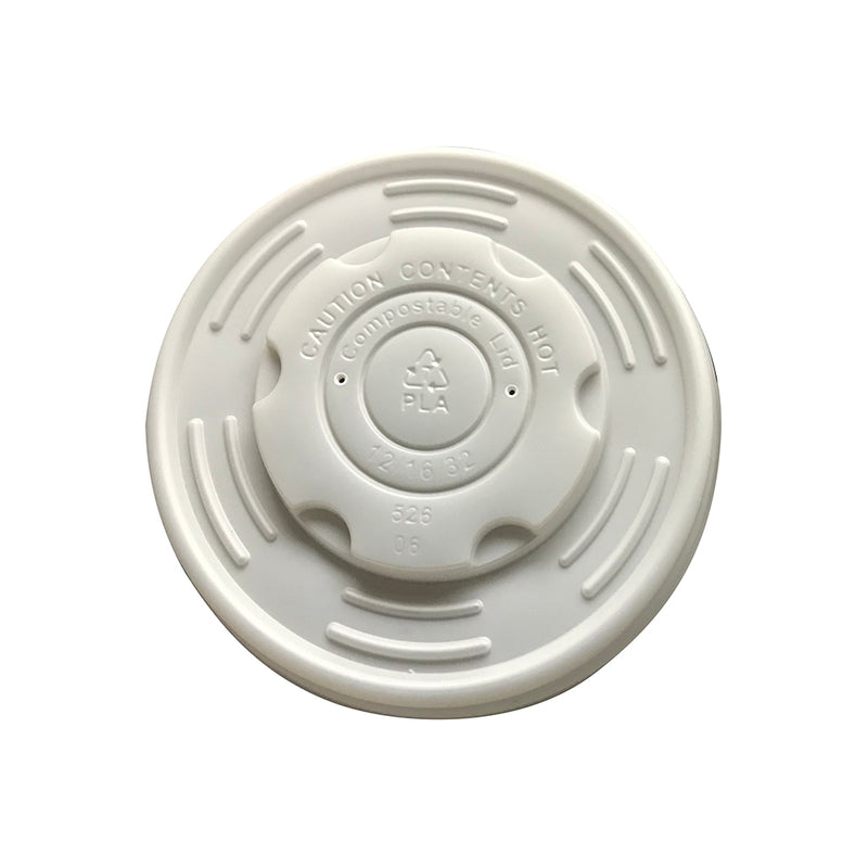Envirochoice Round Container Lid to Suit 12,16 & 24oz