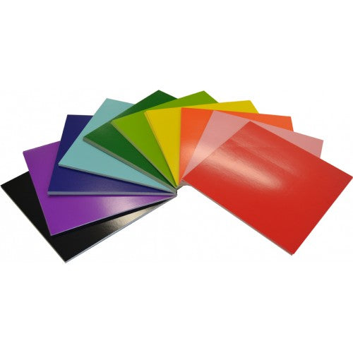 Rainbow Coloured Square Card 290gsm 203mm Square 203mm 100 Sheets Assorted.