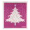 Retro Kitchen Dish Cloth Christmas Tree