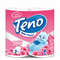 Teno Spring Flower Scented 3ply Toilet Paper 4 Rolls