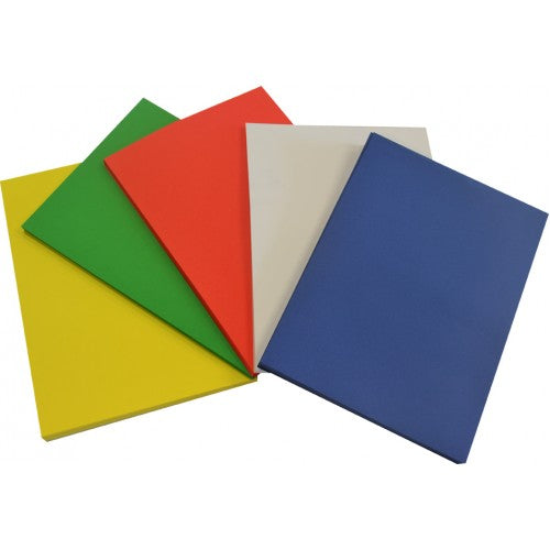 Rainbow Cover Paper A3 5 Colour (Royal Blue, Red, White, Light Green, Sunlight Yellow) Assortedcover paper