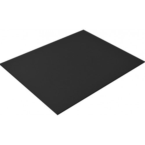 Rainbow Lightweight Board 250gsm 510mm X 640mm 20 Sheets Black.