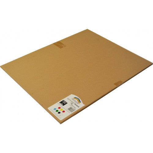 Rainbow Lightweight Board 250gsm 510mm X 640mm 20 Sheets Red.