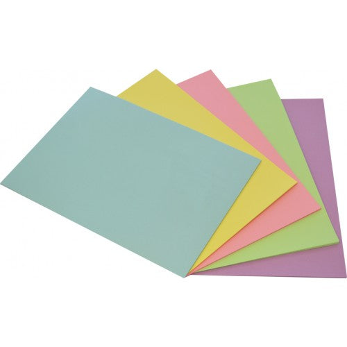 Rainbow Office Paper A4 80gsm 100 Sheets Pastel Assorted