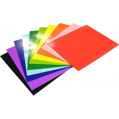 Rainbow Surface Board 300gsm 510mm X 640mm 100 Sheets Assorted.